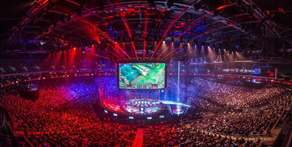 International League of Legends Scene image