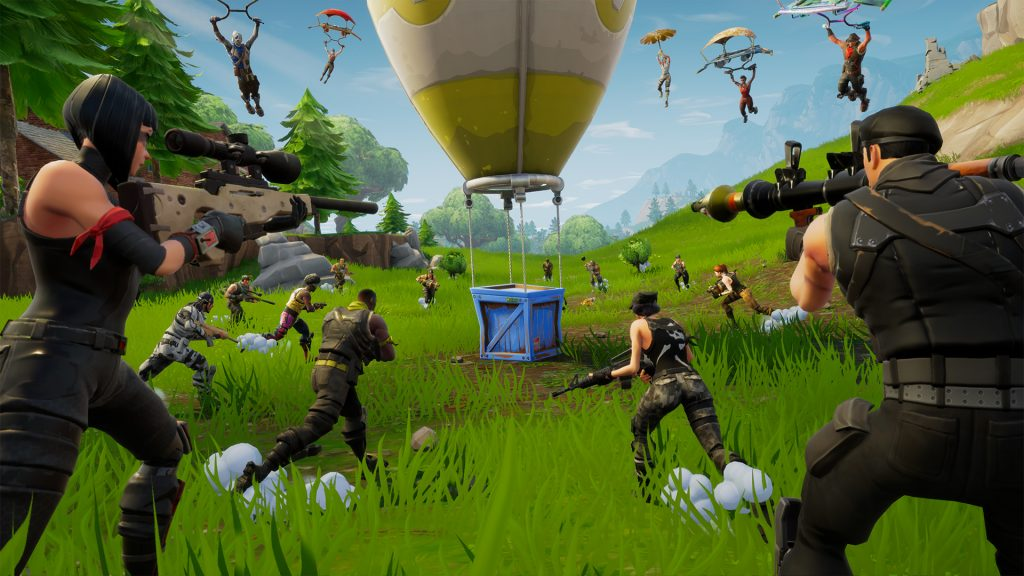 Bet on Fortnite: Battle Royale hero banner