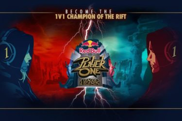 Red Bull partner with Riot Games EU for Red Bull Player One tournament
