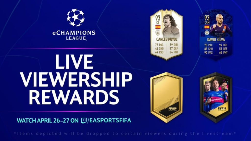 Earn Rewards watching FIFA