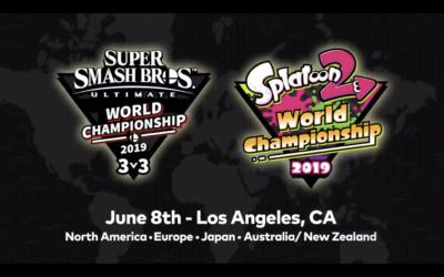 Nintendo favourites 'Smash Bros' and 'Splatoon 2' on the rota for Global Championship