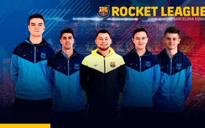 Rocket League introduce FC Barcelona onto their roster