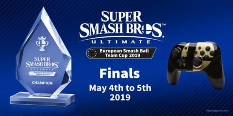 Super Smash Bros. European Champion decided May 4th-5th