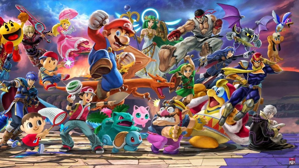Bet On Super Smash Bros hero banner