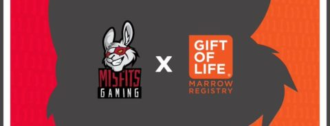 Misfits Gaming announces partnership with Gift of Life
