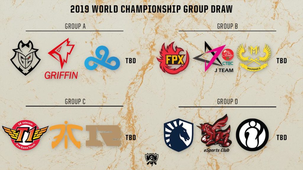 Bracket Play: Worlds 2019 Play-ins and Main Event image