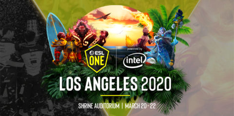 ESL brings Dota 2 Major to LA in 2020