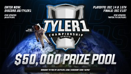 Betting on the Tyler1 Championship Series 2019