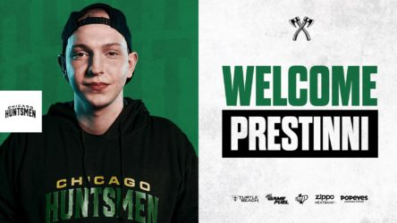 Prestinni Officially Joins The Chicago Huntsmen
