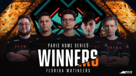 Florida Mutineers go Back-To-Back at CDL Paris
