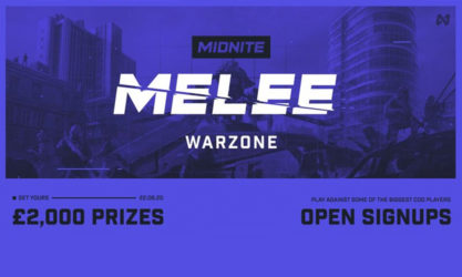 Midnite to host open Warzone Melee with £2,000 prizepool