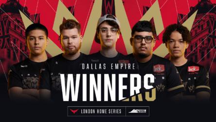 Dallas Empire Win Their Third Home Series at CDL London