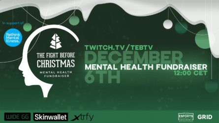 GRID Partners with Rethink Mental Illness for CS:GO Event