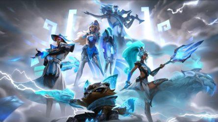 Riot Games Unveils DWG KIA Worlds Skin Line