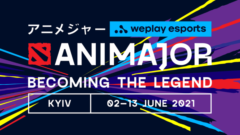 WePlay AniMajor Scheduled for Wednesday, June 2