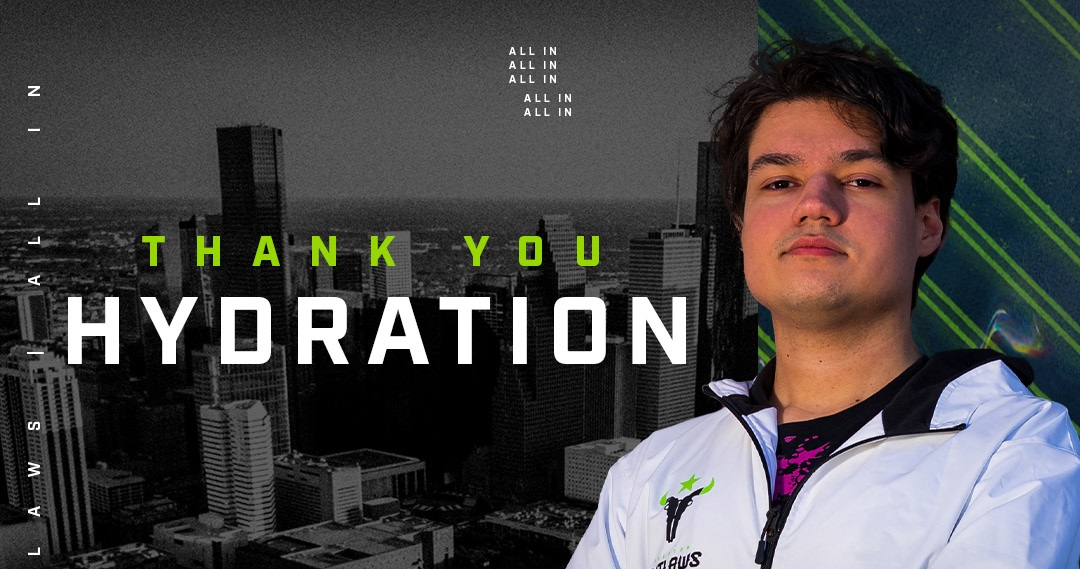 Houston Outlaws Part Ways With Hydration