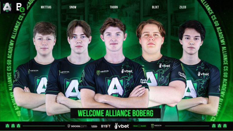 Alliance Announce Academy CS:GO Team