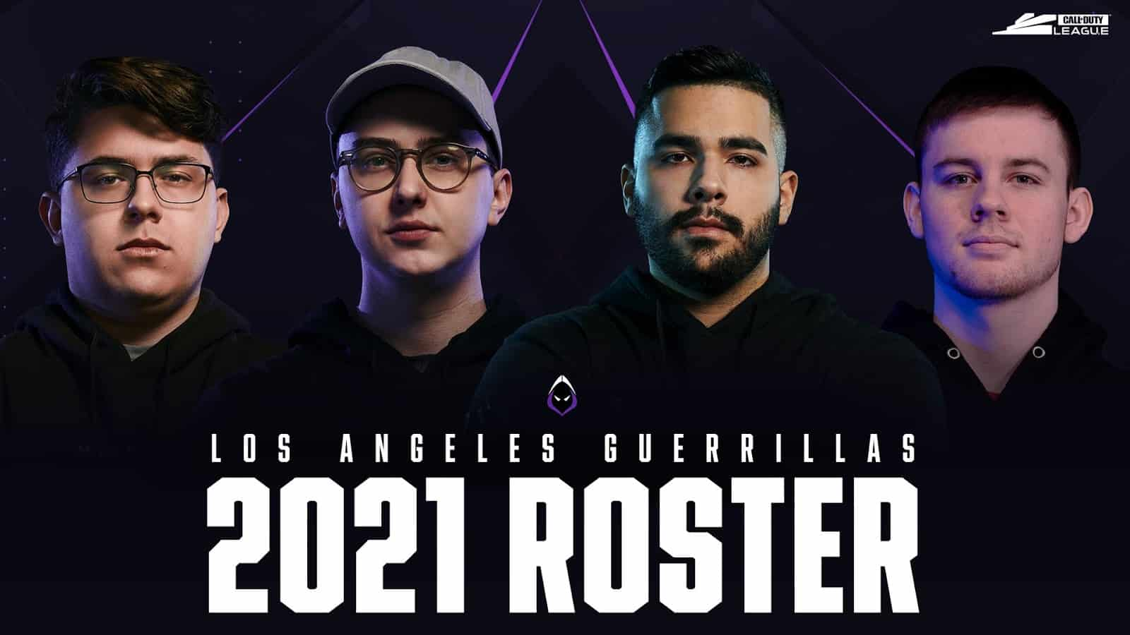 Los Angeles Guerrillas Unveils New Call of Duty Roster