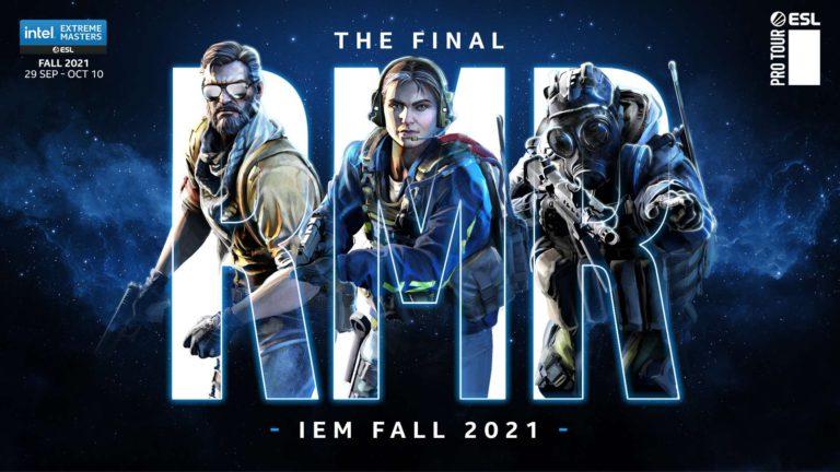ESL Reveal IEM Fall Groups