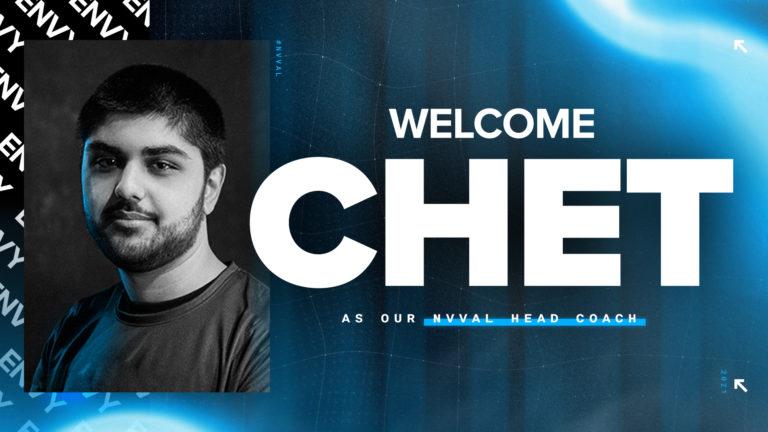 Team Envy Sign Valorant coach Chet